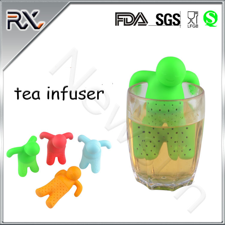 Best quality factory New Design Silicone Tea Infusers