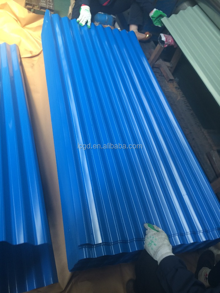 prepainted gi galvanized corrugated steel roofing sheet