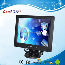 CE 12.1 inch 800 x 600 LCD Monitor touch screen for Retail POS Display