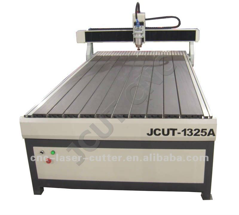 Solid Metal Structure Adjustable Speed Spindle Fast Speed High Efficiency Compatible Large Advertising CNC Engraver JCUT-1325A