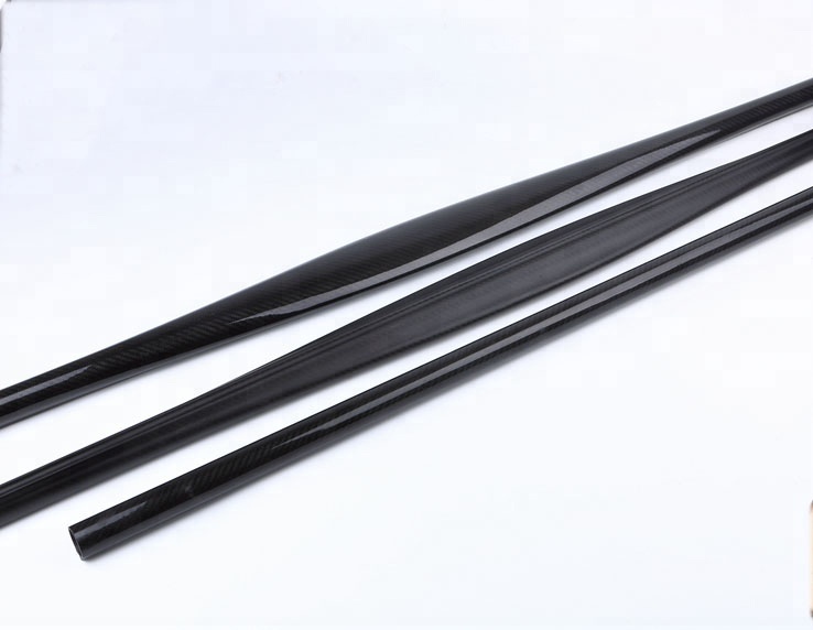 32 <strong>x</strong> 26.4 <strong>x</strong> <strong>1200</strong> mm 3k twill matte spearfishing carbon fiber oval tube for spearfishing gun