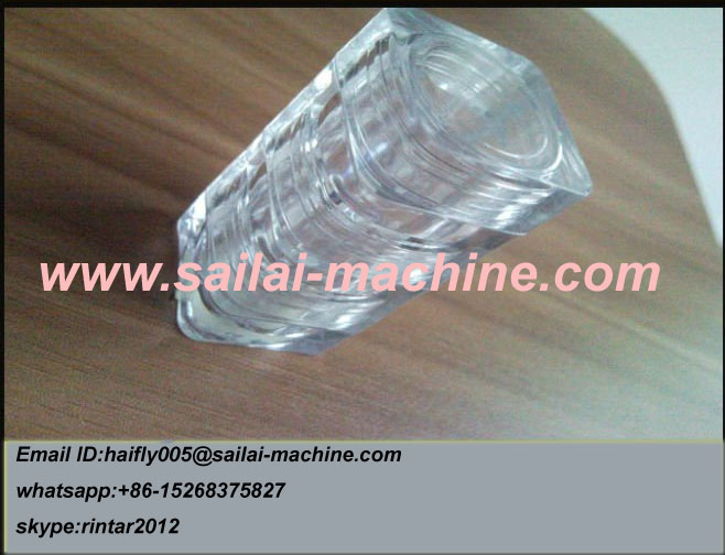 Cap mold for face cream jar