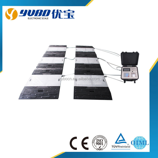 Dynamic Portable Truck Axle Scale,wheel axle truck scale for weighing truck