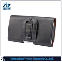 China Newest Black Leather Belt Clip Carrying Case Holster for iPhone 6 4.7, for iPhone6 plus 5.5