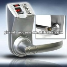 Dustproof with Password Fingerprint or Key to Open Digital Keypad Door Lock