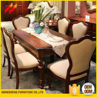 Wholesale Furniture Hotel Wooden Dinning Room