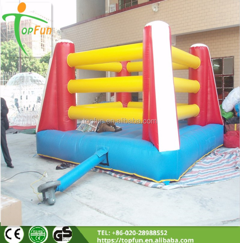fight inflatable wrestling ring box
