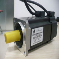Common type servo drive +1.5KW servo motor 6 Nm motor 130 flanges size with 3 meter cable