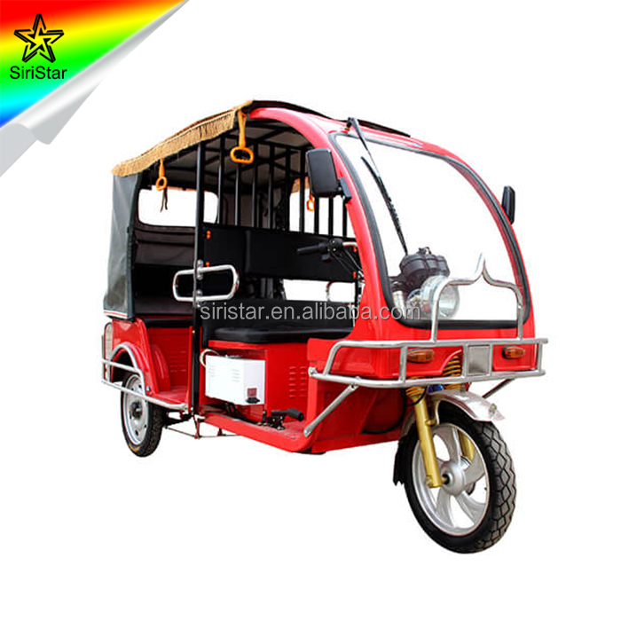 2018 China New Product Electric Passenger Tricycle for Taxi In India