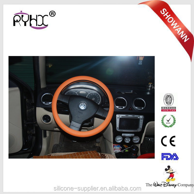heat resistant animal custom cheap wholesale car silicone steering wheel cover
