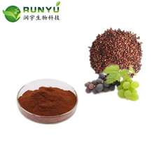 100% Pure grape seed extract Proanthocyanidin 95% UV Polyphenols 80% 85% 90% 95% UV