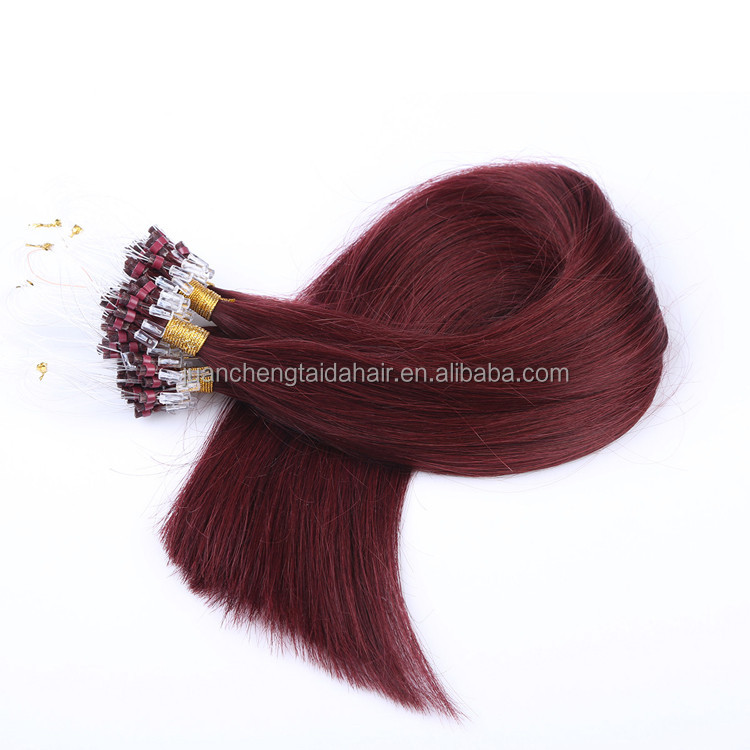 micro links hair extensions 1 gram/strand indian remy hair wholesale