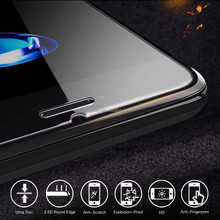 0.3mm nano anti shock kristall liquid glass screen protector film for Iphone7 plus