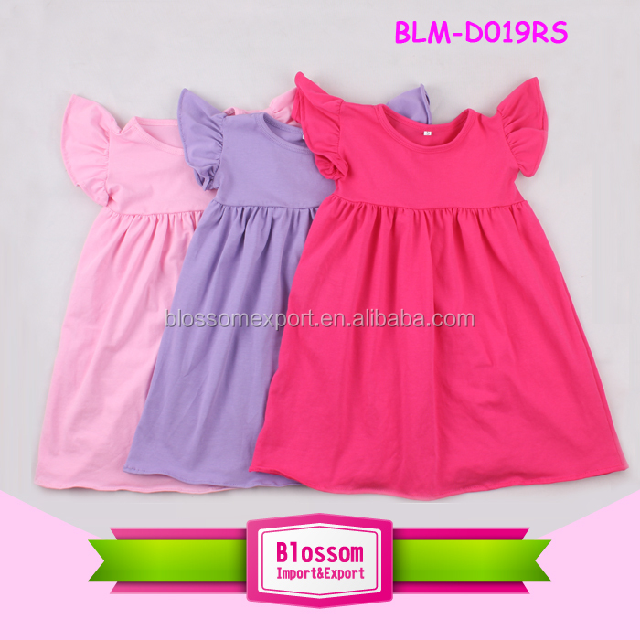 Baby girl party dress 1-6 years old baby girl dress kids clothes china new frock designs for small girls