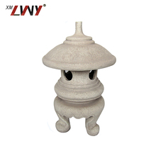 Wholesale High Quality Antique Vintage Resin Outdoor Garden Decorative Lantern