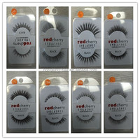 Low price Red cherry synthetic eye lashes