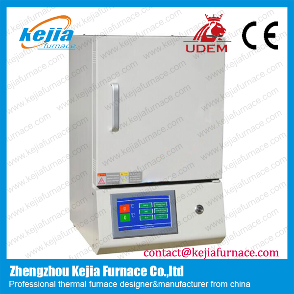 Touch Screen box type muffle furnace with specifications