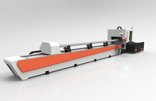 Particular design CNC CONTROL fiber laser cutting machine for pipes tubes , sheet metal with CE ISO FDA