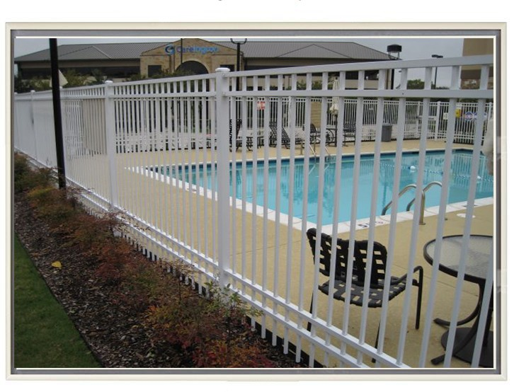 Lowes wrought iron railings panels picket fence portable