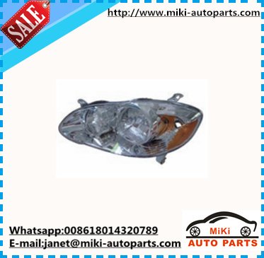 HEAD LAMP US VERSION FOR COROLLA 2003 2004 2005