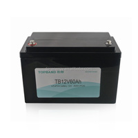 High quality lithium iorn phosphate battery 12v 60ah for energy storage/solar system/LED lighting with 2 year warranty