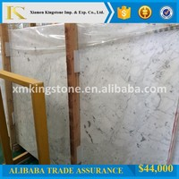 good quality white marble bianco carrara marble for slabs