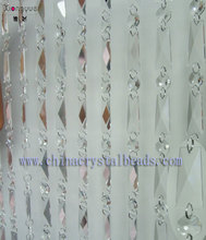 hanging door beads curtain Crystal glass beads curtains landing wholesale for home and wedding decoration