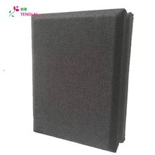 Sound outdoor wooden grooved acoustic panel