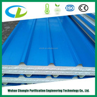 Styrofoam roof sandwich panels