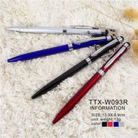 Custom Printed Promotional Wendu German ink metal ballpoint pen with laser pointer