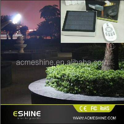 IP 65 solar light led remote controller camping solar lighting