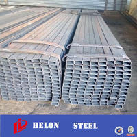 metal building materials ! q195-q235 black square steel pipe high size seamless squae tube st37.4 astm a660