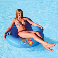 inflatable lounge for pools lakes or rivers portable water lounge chairs water mesh float lounge bed