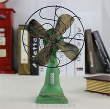 customized euro modern home decor resin old style electric fan
