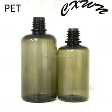 PET NEW decorative plastic bottle with Child Tamper Safety Cap and bottles decorate