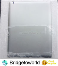 Hard case for iPad 3 for iPad 4 wifi without logo metal back cover