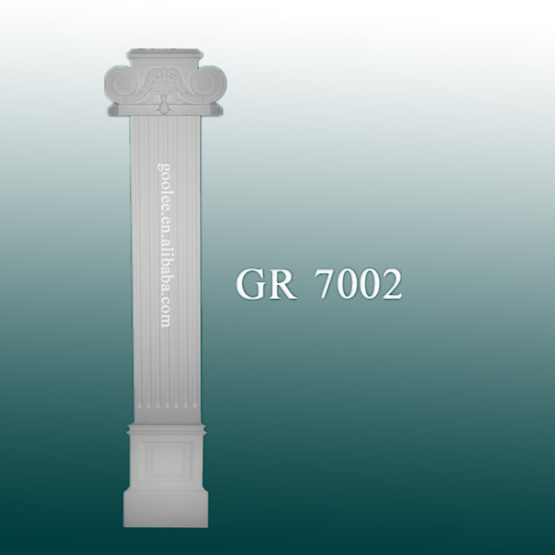 Decorative Polyurethane Columns Pillar for Interior Decoration