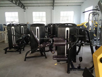 Top Quality Professional gym equiapment body strong fitnaess equipmen/Back Extension/TZ-4006/pin loaded/Commercial gym equipment