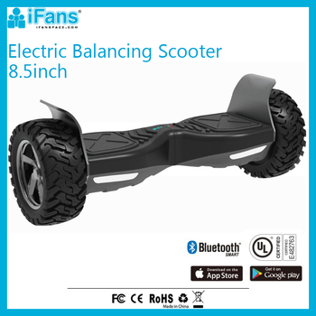 Adult Electric E scooter 2 Wheels 8.5inch UL2272 With Aluminium Guard CE FCC ROHS