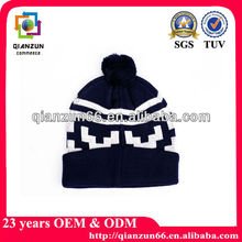 Cute child winter turn-up beanie hat knit Hat