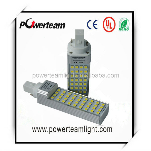 Patented CREP 10w G24 corn light, 60W traditional replacement, LED PL lamp