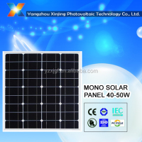 High quality 18V solar panel 50watt