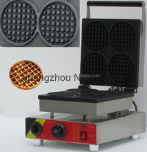 2014 new power food and beverage equipment manufacturer -bakery equipment FV-2206B Electric round Sandwich maker