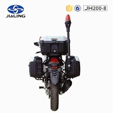 JH200-8 china heavy crusier Cheap gasoline orange and black color motorcycle
