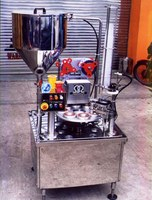 Automatic Cup Filler 1 Head autmatic cup feeder-filler-sealer-eject