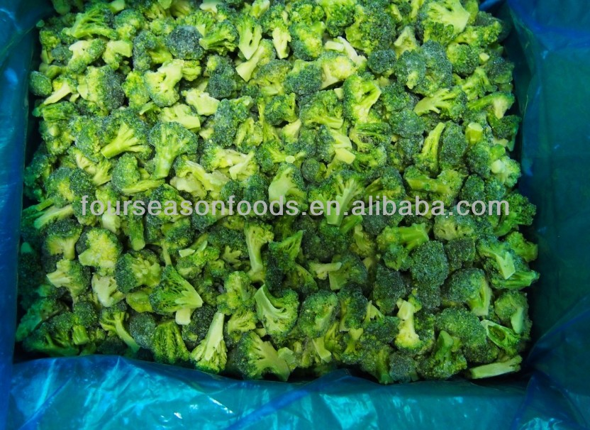 Hot sell IQF/Frozen broccoli florets