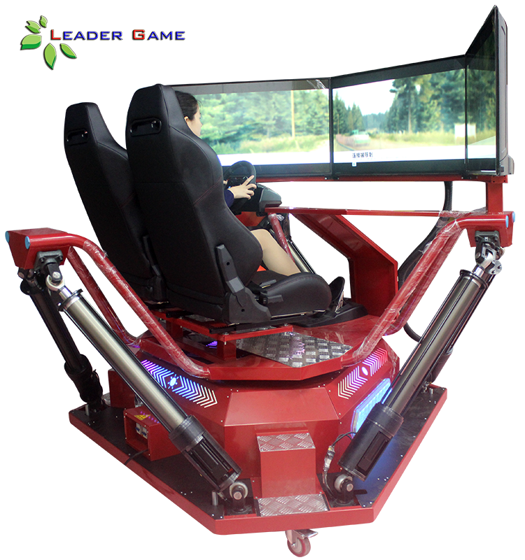 Charmant 3 Screen 6dof Motion 4d Car Gaming Chair Racing Simulator   Buy Racing  Simulator,4d Car Racing Simulator,Gaming Chair Racing Simulator Product On  ...