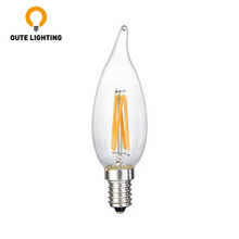 Factory Price Dimmable Edison 4W E14 Candle LED Light Bulb