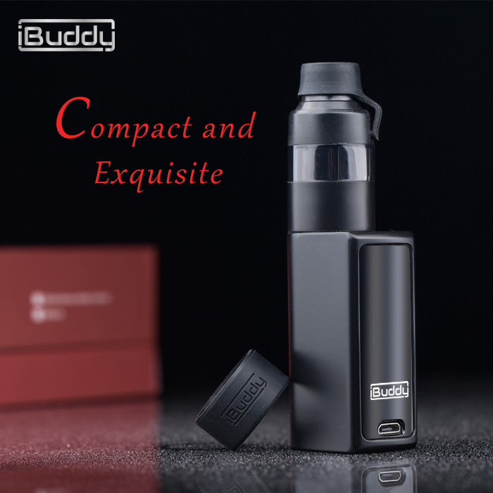alibaba wholesale compact and exquisite 900mAh portable 510 import electronic cigarette iBuddy Nano C