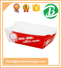 Disposable Fast Food Paper packing Box for chip fried chicken